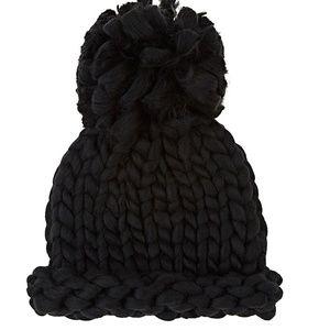 Chunky-Knit Beanie